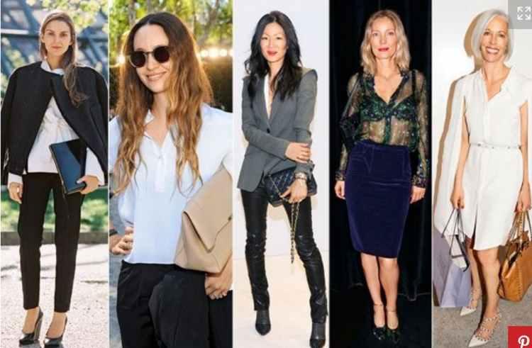 Как одеваться женщине в 40 лет стильно - фото