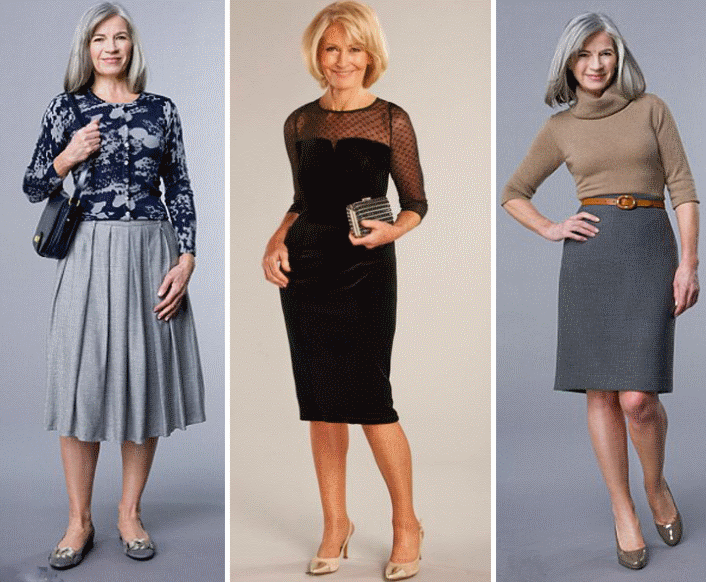 Юбки для женщин после 50 лет (фото)