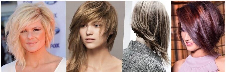 Прически на тонкие средние волосы, придающие объем