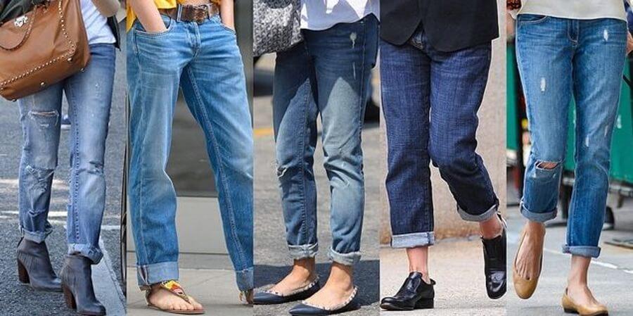 Cиние джинсы в гардеробе незаменимы