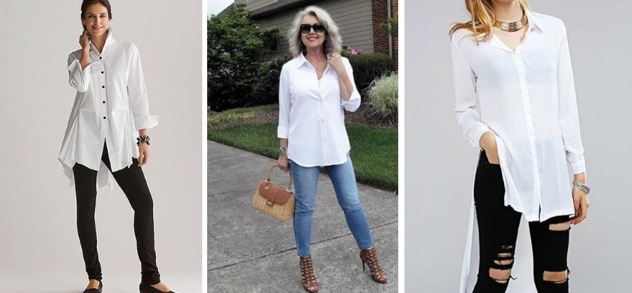 Белая рубашка – вечная классика