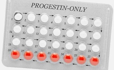 Противозачаточные таблетки с прогестином