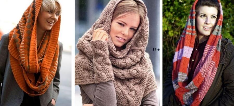 Как красиво носить снуд на голове: универсальность и комфорт