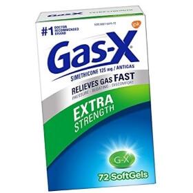 Для быстрого избавления от газов