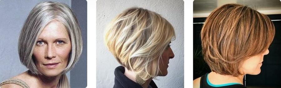 Техника выполнения добавляет волосам объем, что очень немаловажно большинству женщин после 50