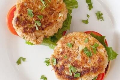 Рецепт рыбных котлетых с салом  - очень вкусно