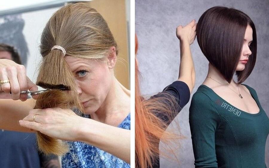 Подстричь саму себя в домашних условиях фото представителями других
