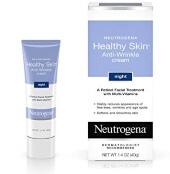 Neutrogena Здоровая кожа - Ночной крем против морщин с ретинолом с комбинацией провитаминов В5, витамина Е и специальных увлажнителей