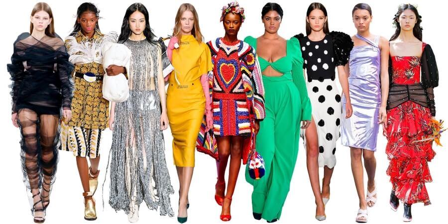 Модные тренды весны и лета 2019 в женской одежде