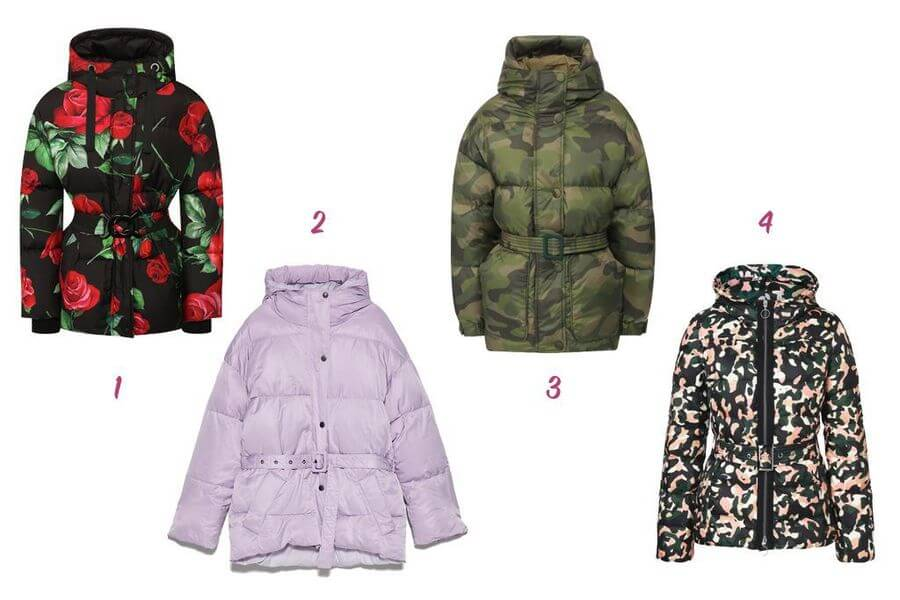 1-Dolce & Gabbana, 2-Zara, 3-Ienki Ienki, 4-Laurel