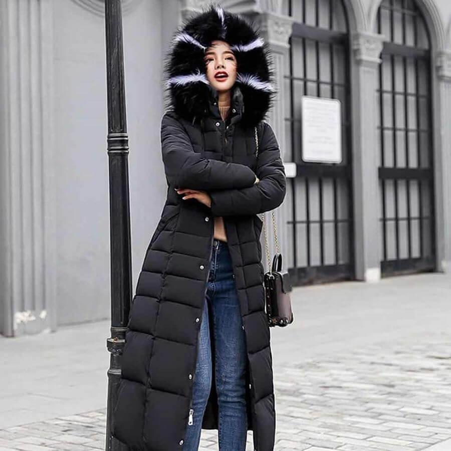 Пуховики женские зимние: сезон 2019 2020 - модные тенденции с фото