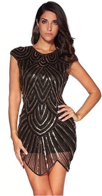 Модное винтажное платье