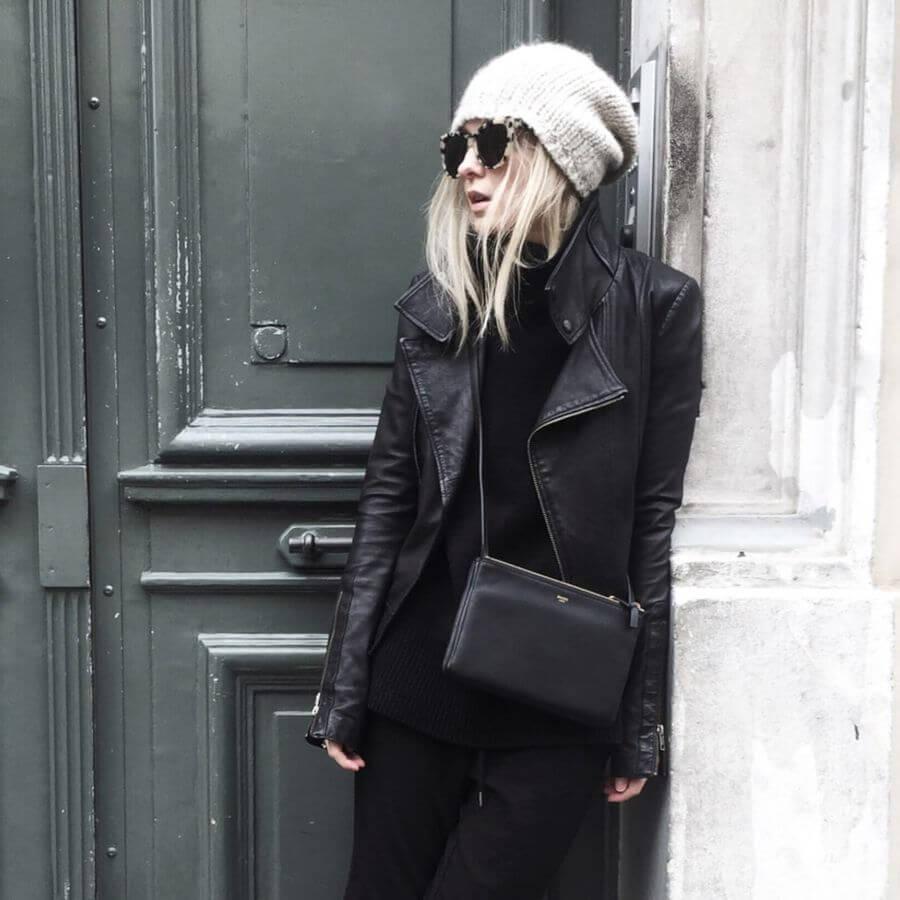 Черные джоггеры женские - с чем и как носить?