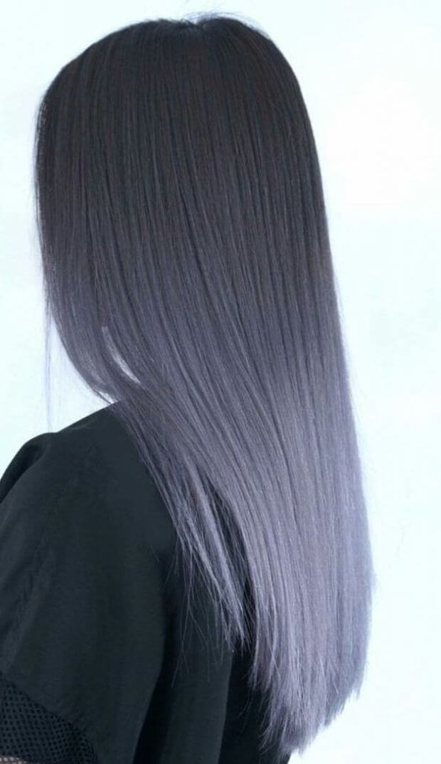 Мелирование на темные волосы средней длины + фото