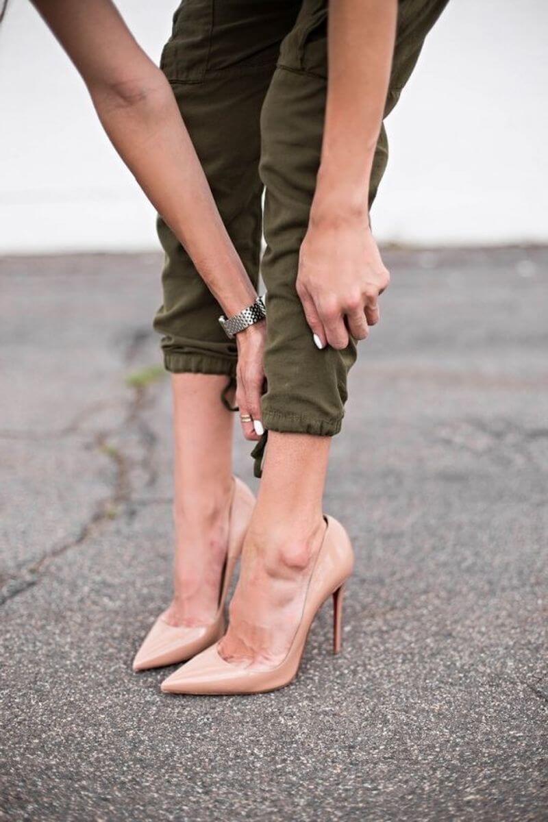 Джоггеры женские с какой обувью носить осенью