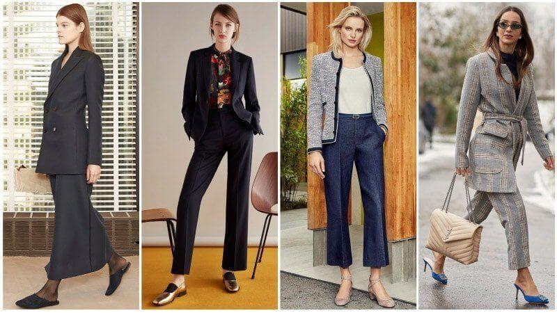 Деловой стиль одежды для женщин: осень 2020